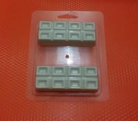 Пластиковая форма Шоколадки 1 шт           - Все для мыла ручной работы - интернет-магазин Blesk-ekb.ru, Екатеринбург