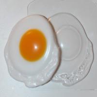Форма пластиковая Яичница  - Все для мыла ручной работы - интернет-магазин Blesk-ekb.ru, Екатеринбург