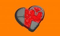 Пластиковая форма Механическое сердце 1 шт - Все для мыла ручной работы - интернет-магазин Blesk-ekb.ru, Екатеринбург