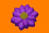 Пластиковая форма Цветок (389) 1 шт         - Все для мыла ручной работы - интернет-магазин Blesk-ekb.ru, Екатеринбург