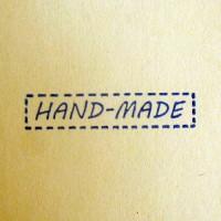 Силиконовый штамп HAND MADE стежки 1 шт - Все для мыла ручной работы - интернет-магазин Blesk-ekb.ru, Екатеринбург