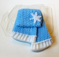 Пластиковая форма Вязаный шарф 1 шт - Все для мыла ручной работы - интернет-магазин Blesk-ekb.ru, Екатеринбург