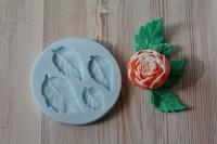 Силиконовая форма Листья 2D 1 шт  - Все для мыла ручной работы - интернет-магазин Blesk-ekb.ru, Екатеринбург