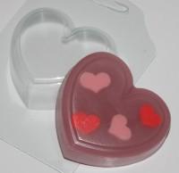 Пластиковая форма Сердце 1 шт - Все для мыла ручной работы - интернет-магазин Blesk-ekb.ru, Екатеринбург