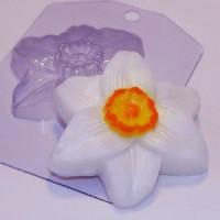 Пластиковая форма Нарцисс 1 шт - Все для мыла ручной работы - интернет-магазин Blesk-ekb.ru, Екатеринбург