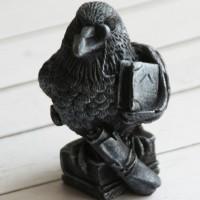 Силиконовая форма Мудрый ворон 3D 1 шт - Все для мыла ручной работы - интернет-магазин Blesk-ekb.ru, Екатеринбург