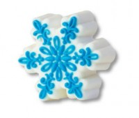 Пластиковая форма Снежинка ажурная 1 шт - Все для мыла ручной работы - интернет-магазин Blesk-ekb.ru, Екатеринбург