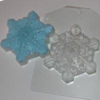Пластиковая форма Снежинка 4, 1 шт - Все для мыла ручной работы - интернет-магазин Blesk-ekb.ru, Екатеринбург