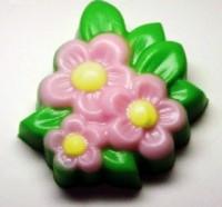 Пластиковая форма Цветочки 1 шт - Все для мыла ручной работы - интернет-магазин Blesk-ekb.ru, Екатеринбург