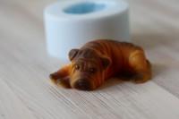 Силиконовая форма Шарпей 3D 1 шт - Все для мыла ручной работы - интернет-магазин Blesk-ekb.ru, Екатеринбург