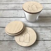 Крышка деревянная  1 шт - Все для мыла ручной работы - интернет-магазин Blesk-ekb.ru, Екатеринбург