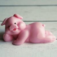 Силиконовая форма  Свинка мини 3D 1шт  - Все для мыла ручной работы - интернет-магазин Blesk-ekb.ru, Екатеринбург