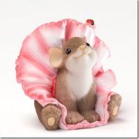 Силиконовая форма Мышка в юбочке 3D 1 шт - Все для мыла ручной работы - интернет-магазин Blesk-ekb.ru, Екатеринбург