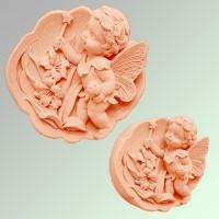 Силиконовая форма Ангелочек  2D 1шт - Все для мыла ручной работы - интернет-магазин Blesk-ekb.ru, Екатеринбург