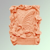 Силиконовая форма Бабочка 2D - Все для мыла ручной работы - интернет-магазин Blesk-ekb.ru, Екатеринбург