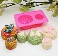 Силиконовая форма Бабочка в цветах 2D - Все для мыла ручной работы - интернет-магазин Blesk-ekb.ru, Екатеринбург