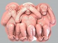Силиконовая форма Обезьяны 2D 1 шт - Все для мыла ручной работы - интернет-магазин Blesk-ekb.ru, Екатеринбург