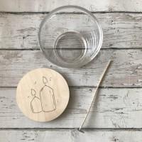 Набор для изготовления свечи (3 предмета) - Все для мыла ручной работы - интернет-магазин Blesk-ekb.ru, Екатеринбург
