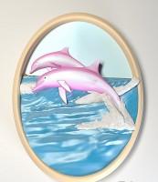Силиконовая форма Дельфины 2D - Все для мыла ручной работы - интернет-магазин Blesk-ekb.ru, Екатеринбург