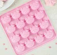 Набор мини форм Свинка  16шт на листе - Все для мыла ручной работы - интернет-магазин Blesk-ekb.ru, Екатеринбург