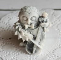 Силиконовая форма Совенок МУЗЫКАНТ 3D, 1шт - Все для мыла ручной работы - интернет-магазин Blesk-ekb.ru, Екатеринбург