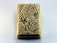 Силиконовая форма Гейша 2D 1 шт - Все для мыла ручной работы - интернет-магазин Blesk-ekb.ru, Екатеринбург