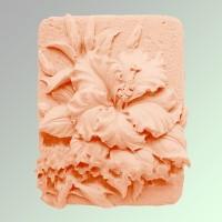 Силиконовая форма Гибискус 2 2D - Все для мыла ручной работы - интернет-магазин Blesk-ekb.ru, Екатеринбург