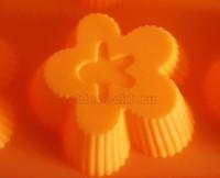 Силиконовая форма ЦВЕТОЧЕК 8*8*2,5 1 шт - Все для мыла ручной работы - интернет-магазин Blesk-ekb.ru, Екатеринбург