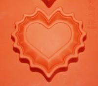 Силиконовая форма СЕРДЦЕ на двоих 1 шт - Все для мыла ручной работы - интернет-магазин Blesk-ekb.ru, Екатеринбург