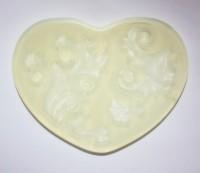 Текстурный вкладыш Сердце №6 8*5,5 1 шт - Все для мыла ручной работы - интернет-магазин Blesk-ekb.ru, Екатеринбург
