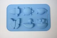 Силиконовая форма Ассорти детская морская 6 шт - Все для мыла ручной работы - интернет-магазин Blesk-ekb.ru, Екатеринбург