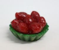 Силиконовая форма Тарталетка с клубникой 3D 1 шт - Все для мыла ручной работы - интернет-магазин Blesk-ekb.ru, Екатеринбург