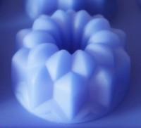 Силиконовая форма КЕКСИК цветочный 7.7*7.7*4 1шт - Все для мыла ручной работы - интернет-магазин Blesk-ekb.ru, Екатеринбург