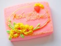 Силиконовая форма Любимой мамочке №2  2D 1 шт  - Все для мыла ручной работы - интернет-магазин Blesk-ekb.ru, Екатеринбург