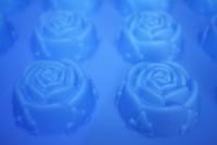 Силиконовая форма РОЗА мини 4*4*2,2 1 шт - Все для мыла ручной работы - интернет-магазин Blesk-ekb.ru, Екатеринбург