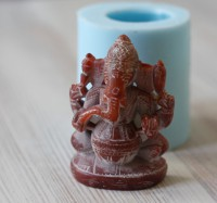 Силиконовая форма Индийский слон 3D 1 шт - Все для мыла ручной работы - интернет-магазин Blesk-ekb.ru, Екатеринбург