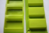 Силиконовая форма Слитки-конфетки 5*2,5*1 4 шт - Все для мыла ручной работы - интернет-магазин Blesk-ekb.ru, Екатеринбург
