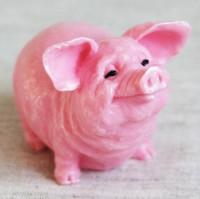 Силиконовая форма Довольная Свинка 1 шт - Все для мыла ручной работы - интернет-магазин Blesk-ekb.ru, Екатеринбург
