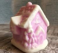 Силиконовая форма Новогодний домик 2D - Все для мыла ручной работы - интернет-магазин Blesk-ekb.ru, Екатеринбург