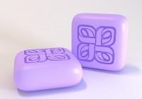 Силиконовая форма Квадрат 2 3 D 1 шт - Все для мыла ручной работы - интернет-магазин Blesk-ekb.ru, Екатеринбург