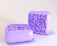 Силиконовая форма Квадрат 3 3 D 1 шт - Все для мыла ручной работы - интернет-магазин Blesk-ekb.ru, Екатеринбург