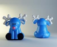 Силиконовая форма Лосенок  3D 1 шт - Все для мыла ручной работы - интернет-магазин Blesk-ekb.ru, Екатеринбург