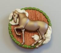 Силиконовая форма Лошадь 2D 1 шт - Все для мыла ручной работы - интернет-магазин Blesk-ekb.ru, Екатеринбург
