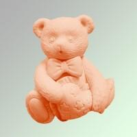 Силиконовая форма МИШКА  2D 1шт - Все для мыла ручной работы - интернет-магазин Blesk-ekb.ru, Екатеринбург