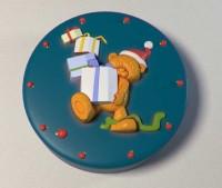 Силиконовая форма Мишка с подарками 2D - Все для мыла ручной работы - интернет-магазин Blesk-ekb.ru, Екатеринбург