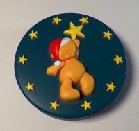 Силиконовая форма Мишка со звездами 2D - Все для мыла ручной работы - интернет-магазин Blesk-ekb.ru, Екатеринбург
