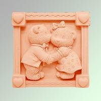Силиконовая форма МИШКИ  2D 1шт - Все для мыла ручной работы - интернет-магазин Blesk-ekb.ru, Екатеринбург