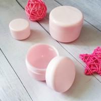 Баночка косметическая 10 мл, розовая 1 шт - Все для мыла ручной работы - интернет-магазин Blesk-ekb.ru, Екатеринбург