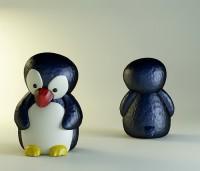 Силиконовая форма Пингвиненок 3D 1 шт - Все для мыла ручной работы - интернет-магазин Blesk-ekb.ru, Екатеринбург