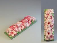 Силиконовая форма под нарезку Плюмерии 2D 1 шт - Все для мыла ручной работы - интернет-магазин Blesk-ekb.ru, Екатеринбург